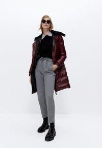 Uterqüe - STRETCH  - Trousers - grey - 1