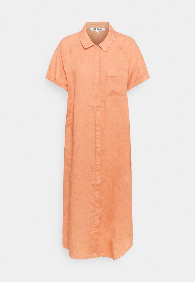 LYCHEE DRESS WOMAN - Košilové šaty - light terracota