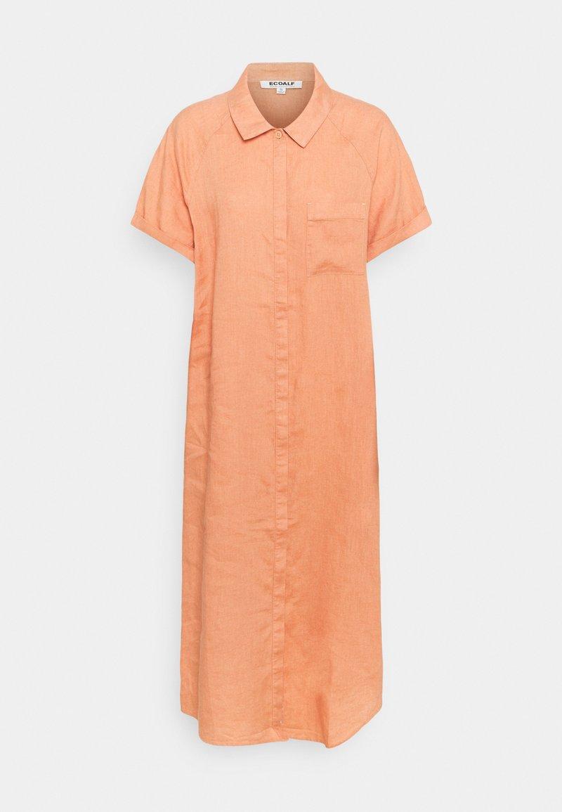 Ecoalf - LYCHEE DRESS WOMAN - Shirt dress - light terracota