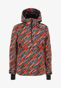 Superdry - Kurtka narciarska - orange/grey - 8
