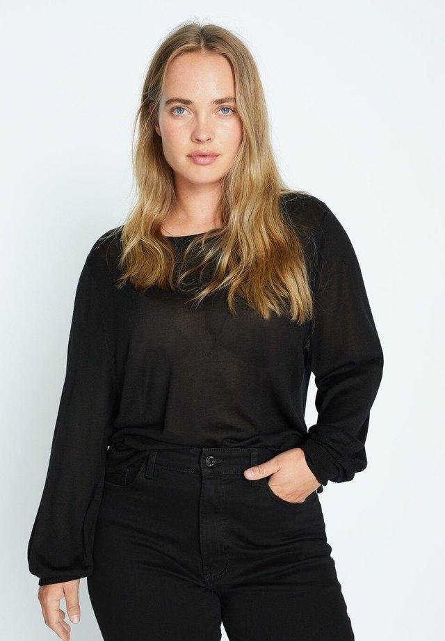 WEY - Pullover - schwarz
