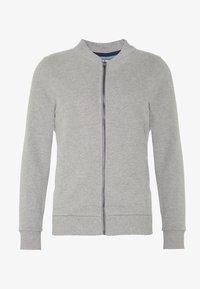 BOMB PEACH - Zip-up sweatshirt - medium grey