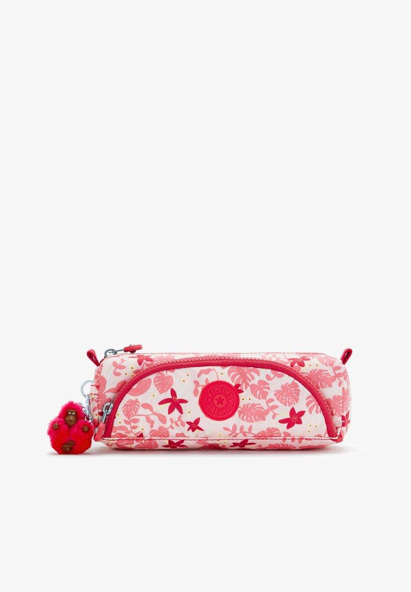 Kipling - CUTE - Pencil case - pink leaves