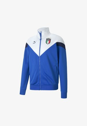 ITALIEN FIGC ICONIC MCS  - Verryttelytakki - team power blue-white