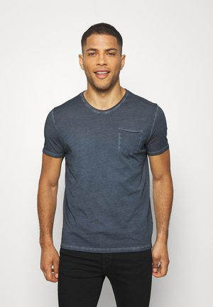 SHORT SLEEVE RAW - Basic T-shirt - total eclipse