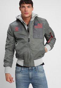 Alpha Industries - BLOOD CHIT - Light jacket - vintage green - 3