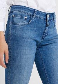 CLOSED - BAKER LONG - Jean slim - mid blue - 3