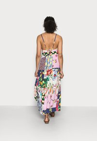 Desigual - TROPICAL - Korte jurk - material finishes - 2
