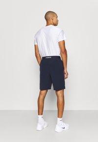 Lacoste Sport - TENNIS SHORT - Urheilushortsit - navy blue/white - 2