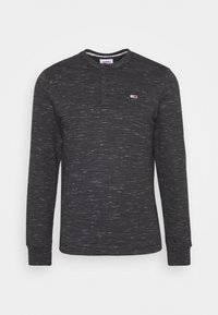 Tommy Jeans - TJM SNIT HENLEY - Long sleeved top - black - 3