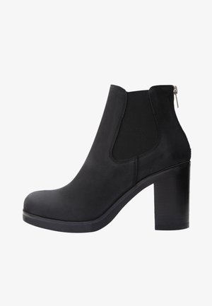 LILIANA - High heeled ankle boots - black