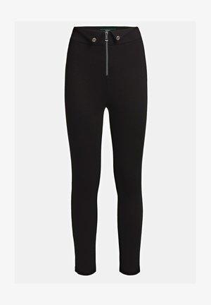 MONACO PONTE - Leggings - Trousers - nero