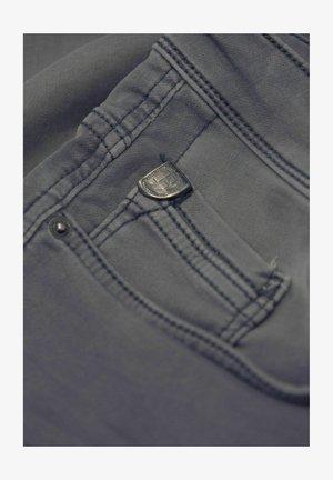 Denim shorts - stone grey