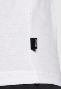 Les Deux - LENS - Long sleeved top - white/black - 3