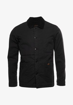 UTILITY - Light jacket - black wax