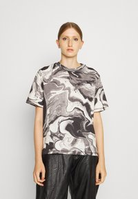 Holzweiler - RUSH TEE - Print T-shirt - dark grey - 0