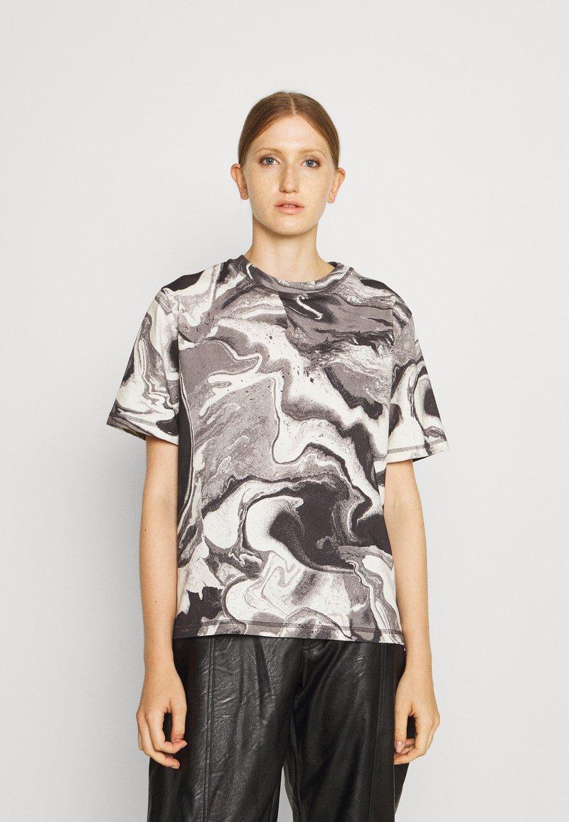 Holzweiler - RUSH TEE - Print T-shirt - dark grey
