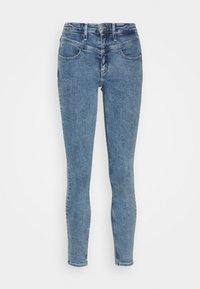 Jeans Skinny Fit - light blue yoke
