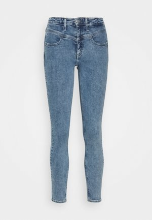 Jeans Skinny Fit - light blue yoke