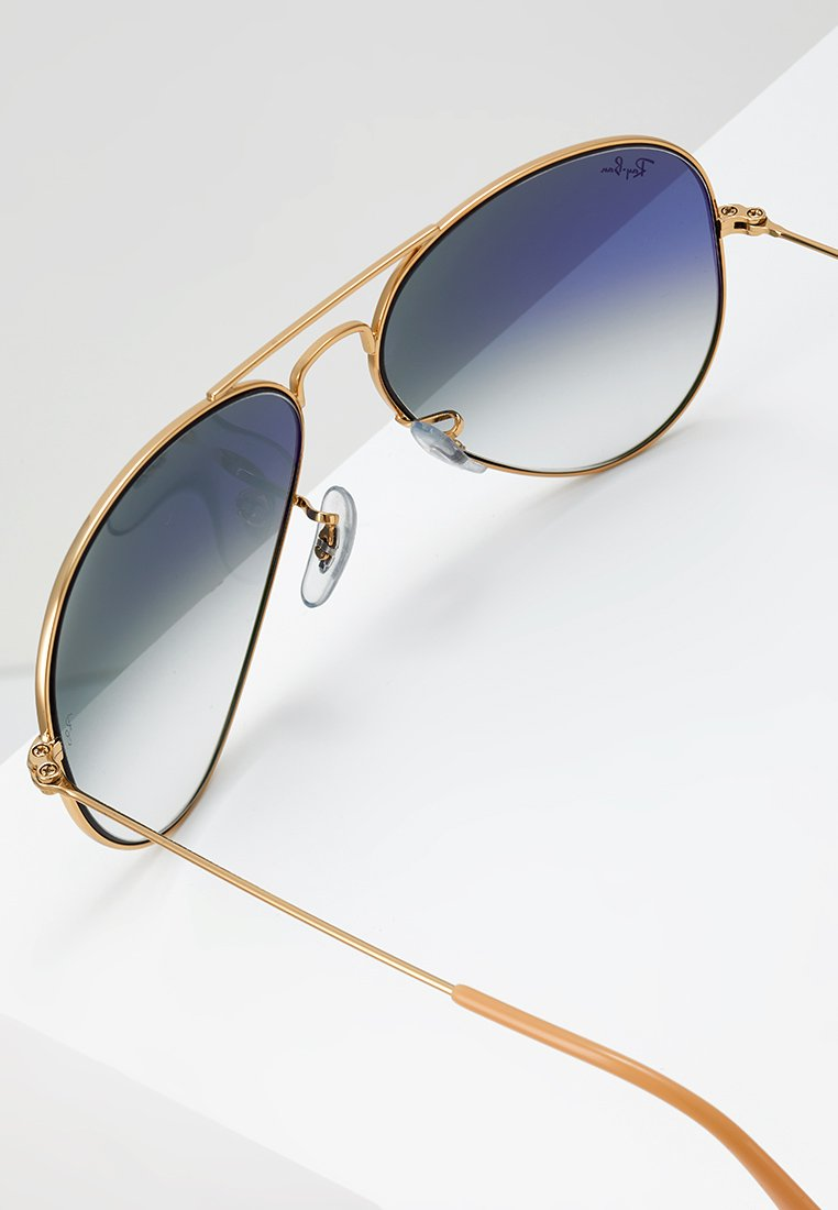 Ray-Ban AVIATOR - Solbriller - gold crystal gradient light blue/gull ah2RRNQit0aO2Pv