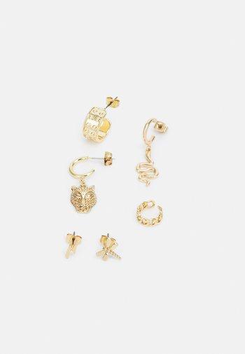 HOLLY EARRINGS 3 PACK - Earrings - gold-coloured