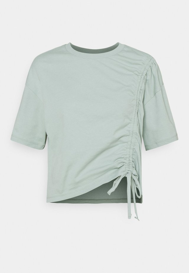 ARNA PETIT DRAWSTRING - Print T-shirt - aqua grey