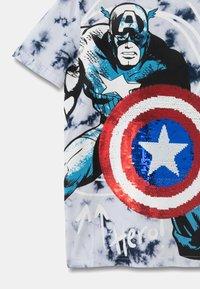 Desigual - MARVEL - Print T-shirt - blue - 2