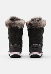 TrollKids - HOLMENKOLLEN UNISEX - Bottes de neige - steel grey/magenta - 2