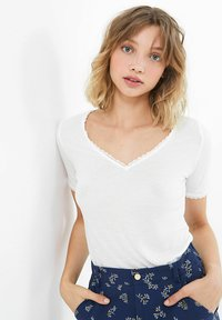 I.Code by IKKS - T-shirt print - blanc casse - 2