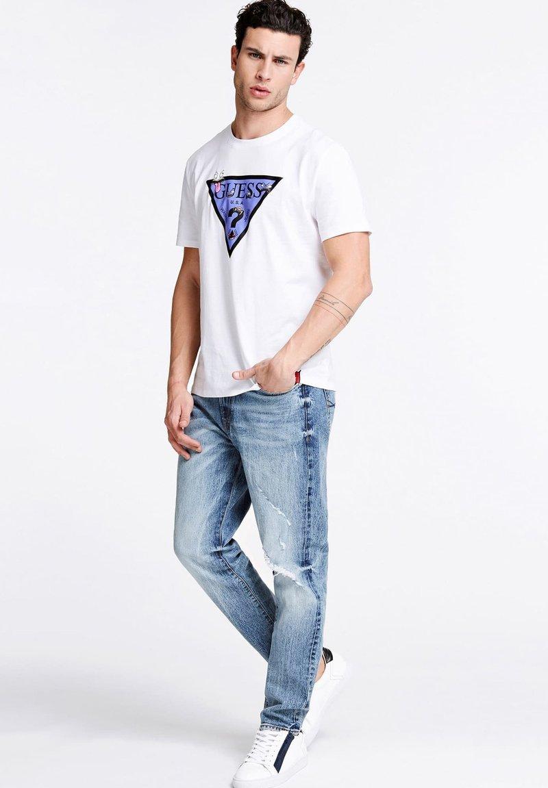 Guess T-Shirt print - weiß bYc8ui