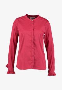 Mos Mosh - MATTIE - Button-down blouse - cherry - 5