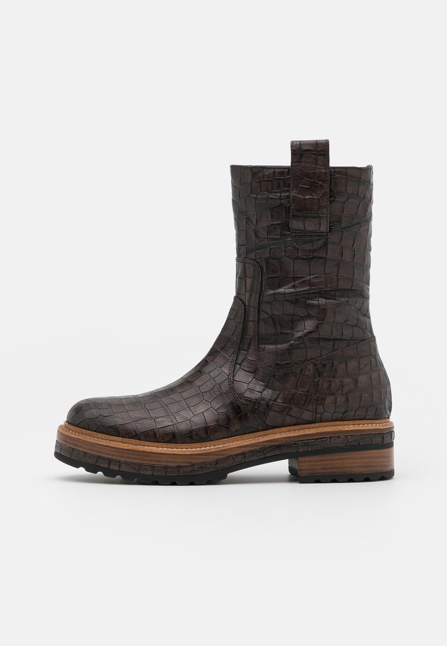ANDREA - Boots - fondant caiman