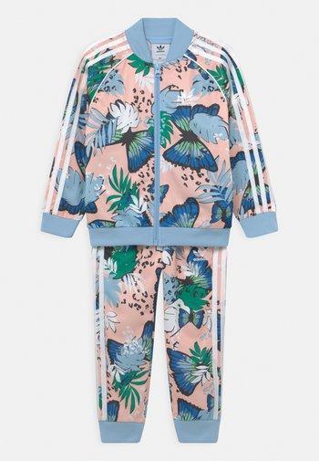 SET UNISEX - Training jacket - haze coral/multicolor