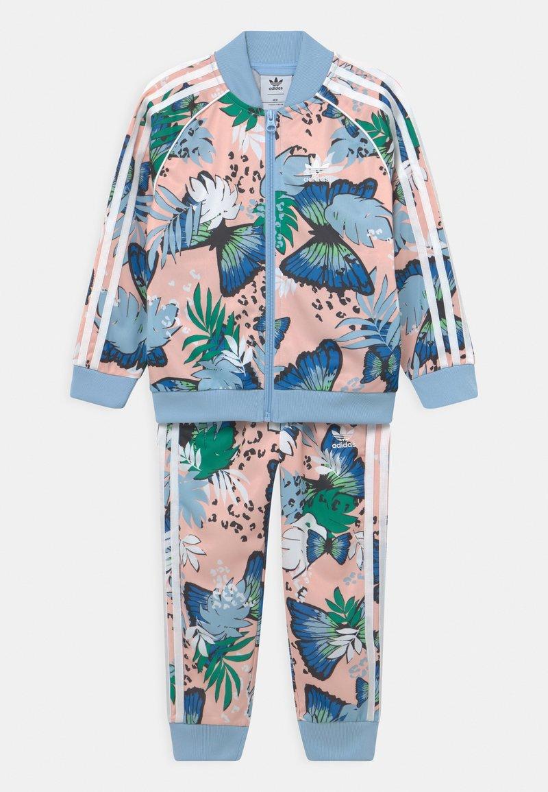 adidas Originals - SET UNISEX - Training jacket - haze coral/multicolor