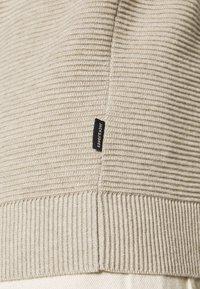 Jack & Jones - JELIAM CREW NECK - Stickad tröja - oatmeal  melange - 5