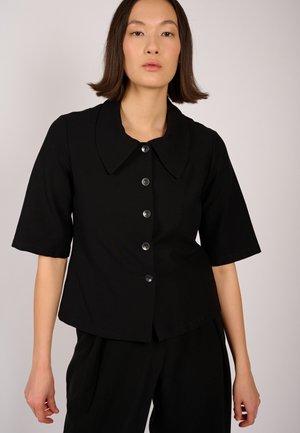 DUNA  - Button-down blouse - black