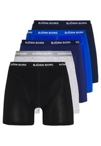 Björn Borg - SOLIDS 5 PACK - Onderbroeken - blue depths - 0