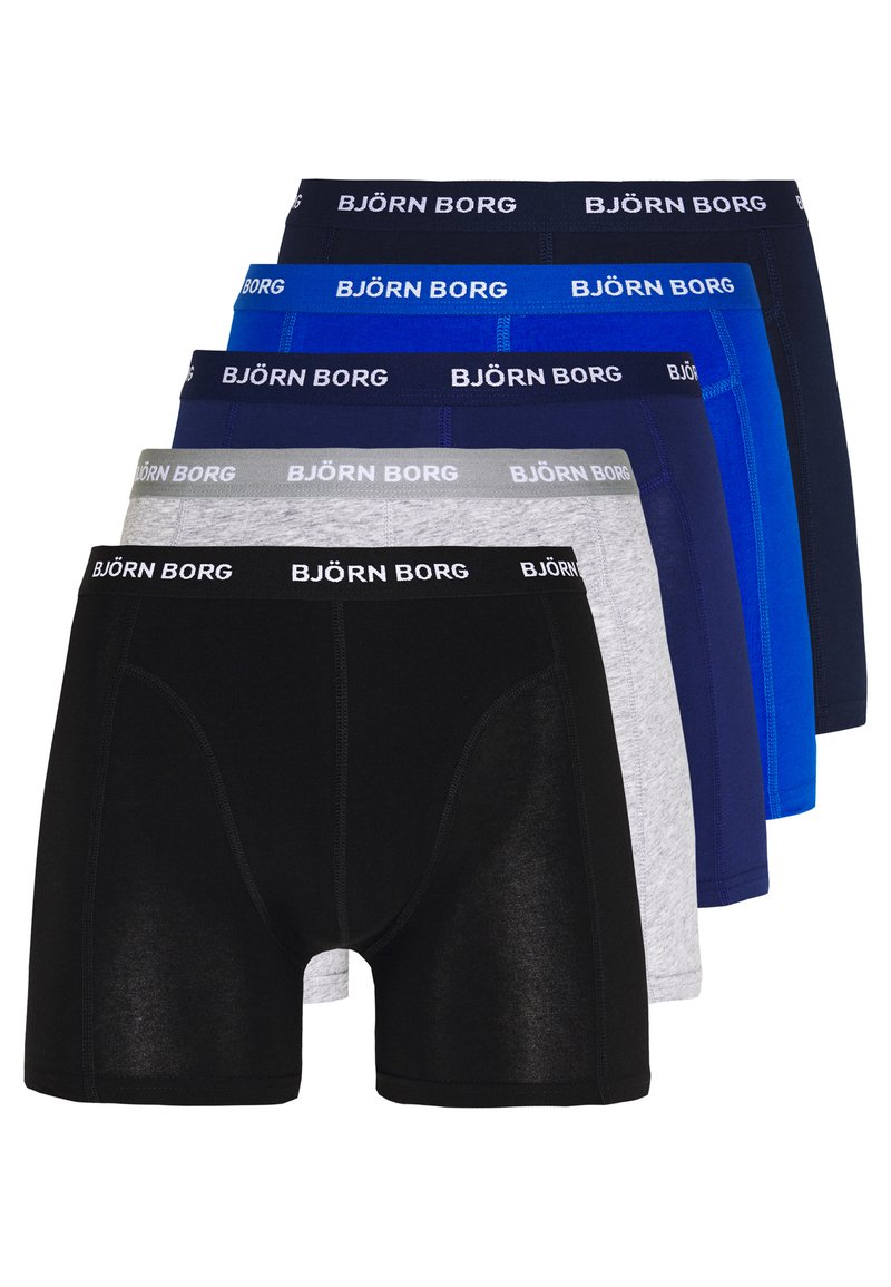 Björn Borg - SOLIDS 5 PACK - Onderbroeken - blue depths