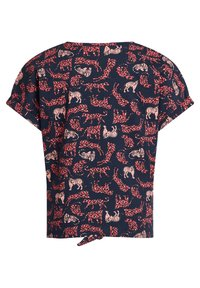 WE Fashion - T-shirt print - dark blue, pink - 6