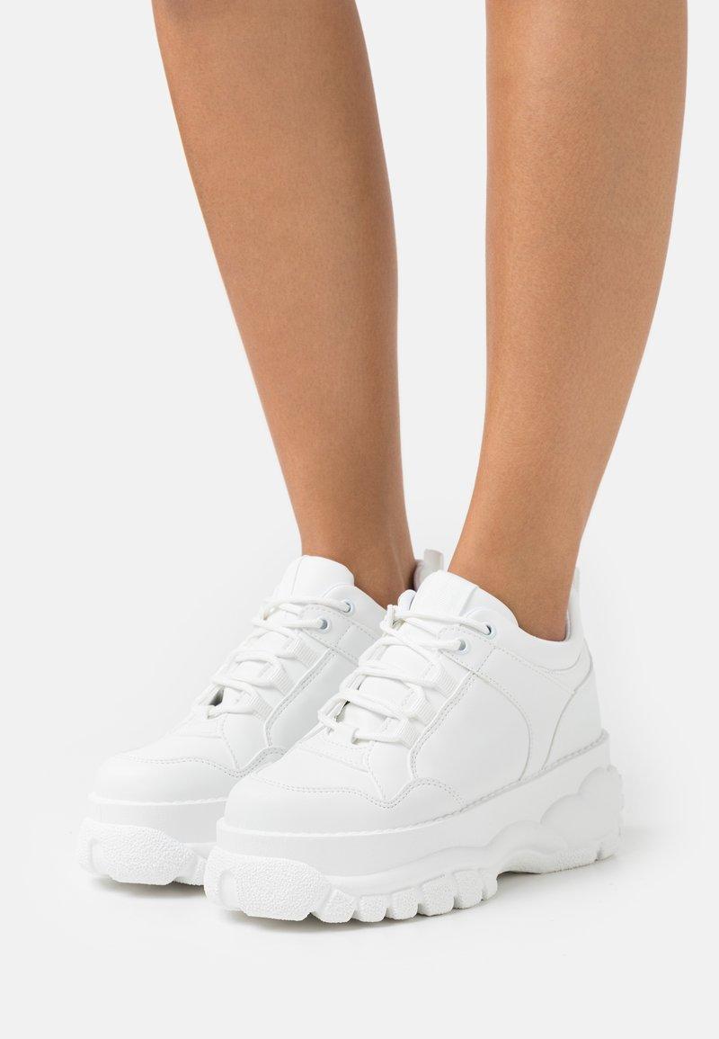 Topshop - CAIRO - Sneakersy niskie - white