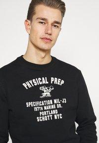 Schott - PHYSICAL - Sweatshirt - black - 3