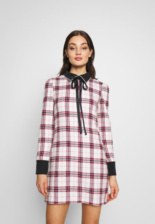 COURTLY CHECK RABBIT DRESS - Sukienka etui - multi