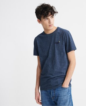 VINTAGE  - T-shirt con stampa - abyss navy feeder
