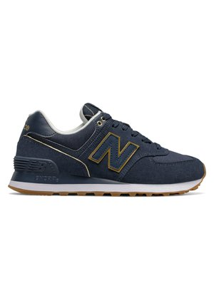 WL574 - Sneakers basse - natural indigo/gold