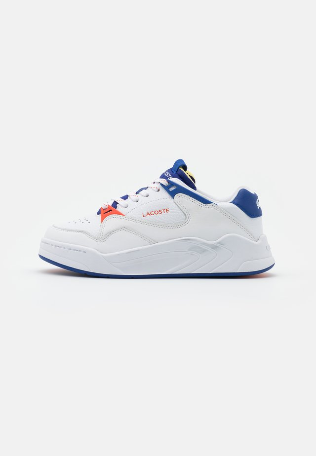 COURT SLAM - Baskets basses - white/dark blue