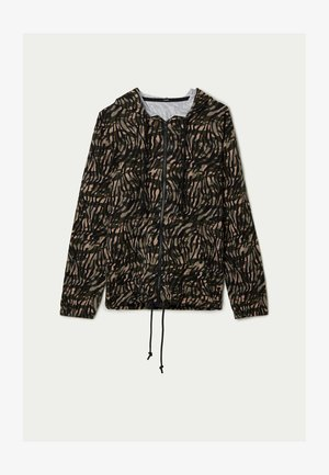 Zip-up hoodie - st.military animalier