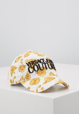 Casquette - white/gold