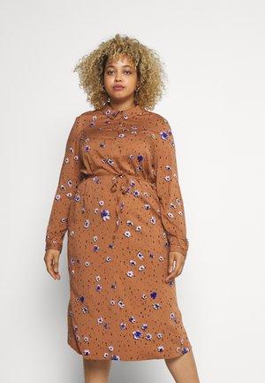 JROTEA MIDI DRESS  - Shirt dress - thrush