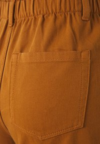 TOM TAILOR DENIM - CONSTRUCTED TWILL - Shorts - mango brown - 2