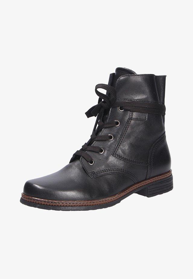Ankle boots - schwarzcognac (27)